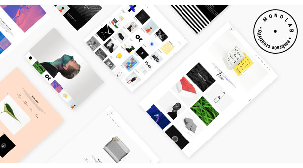 Monolab - Tema de Portafolio Creativo - 1