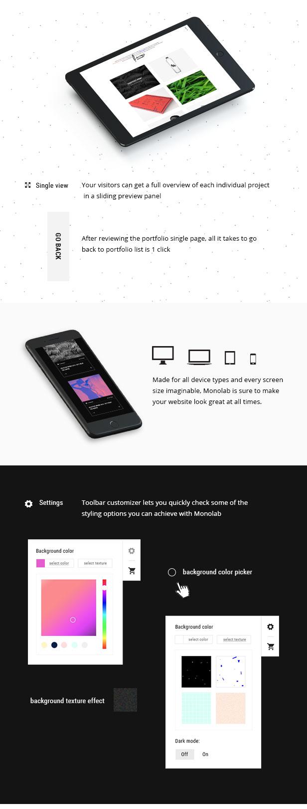 Monolab - Creative Portfolio Theme - 5