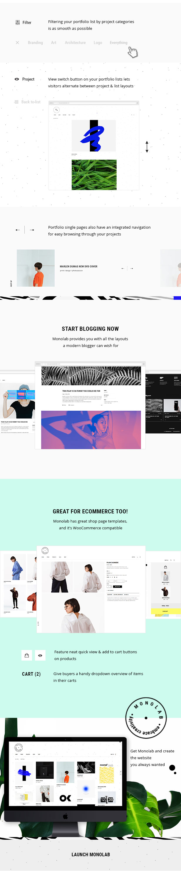 Monolab - Creative Portfolio Theme - 6